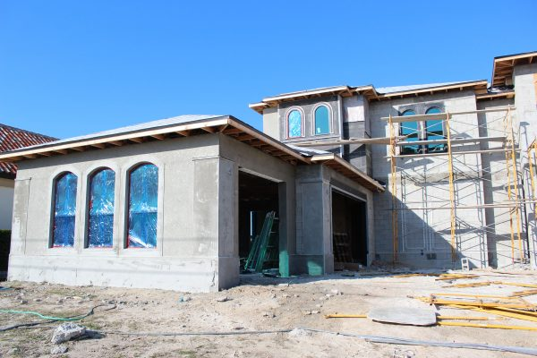 Construction Process – Villa Noumena