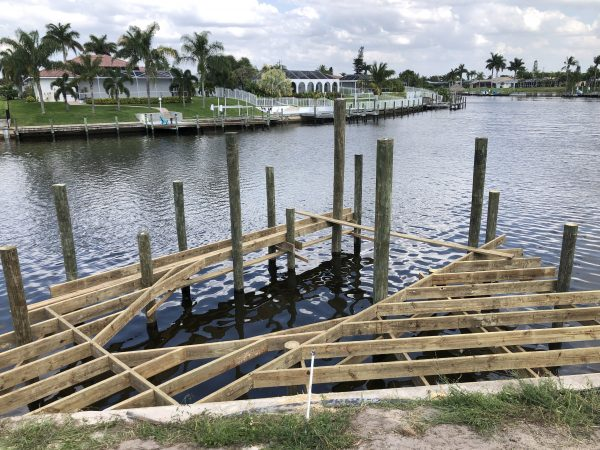 Construction Process – Boat Dock (Lift)