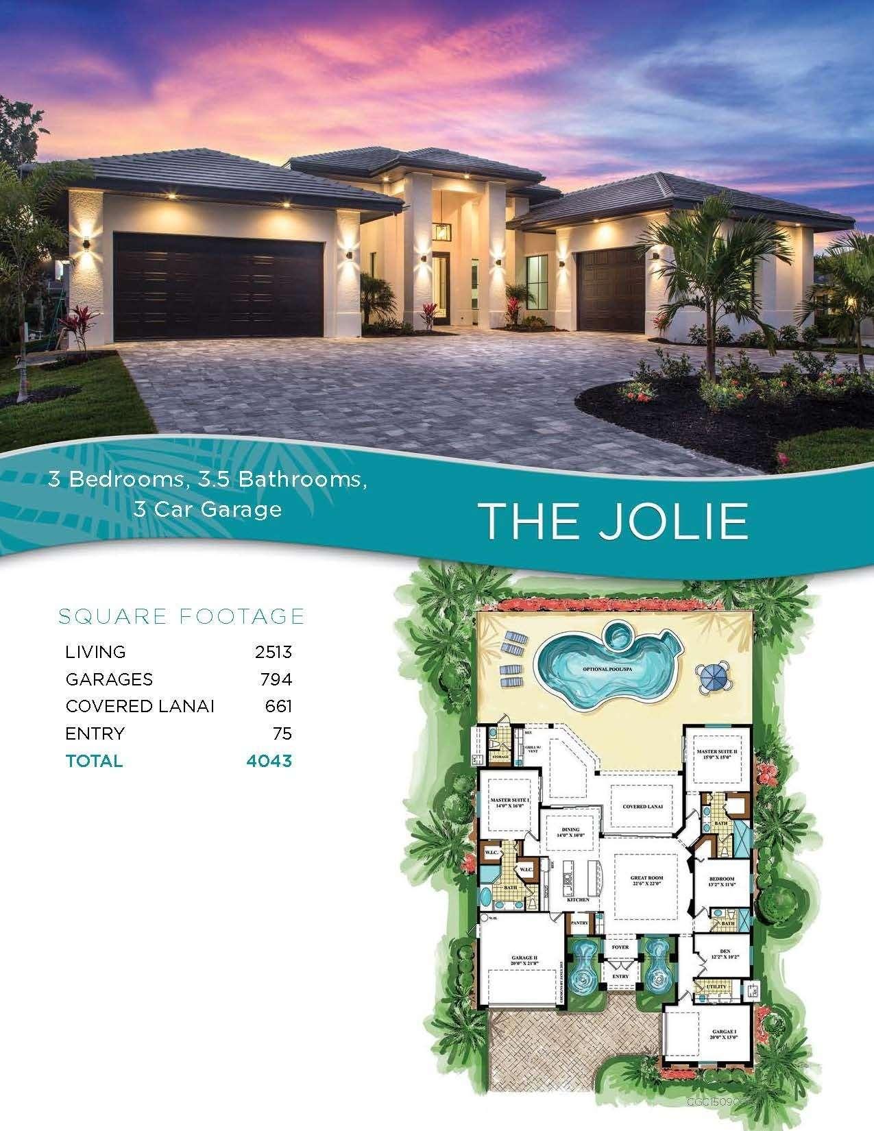 Floorplan: The Jolie