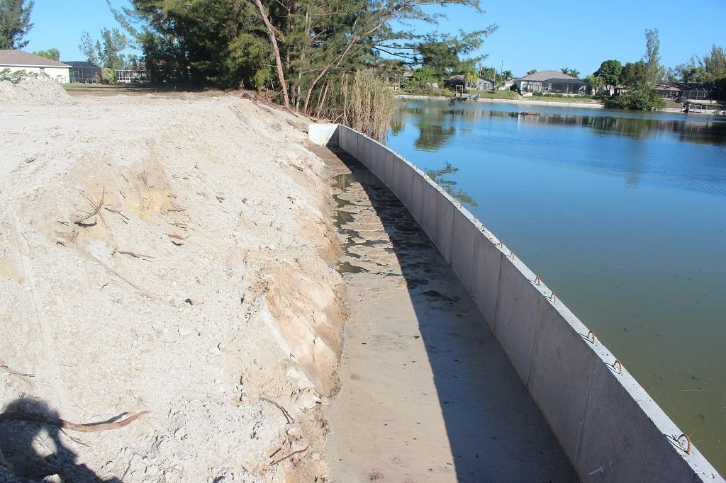 Read more about the article Construction Process – Sea Wall